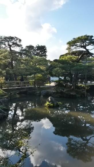 Ginkaku-ji gardens