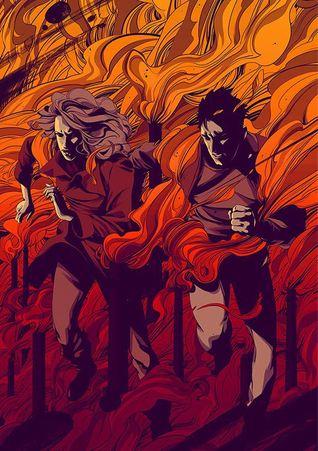 burned-away