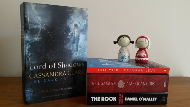 Birthday book haul LOS and red stack