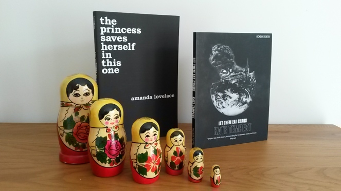 Birthday book haul poetry and russian doll