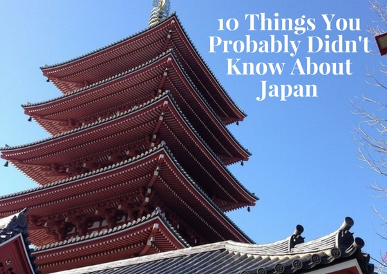 10 Things You Probably Didn't Know About Japan