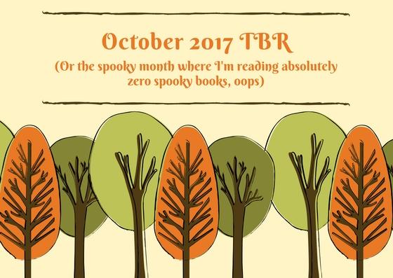October 2017 TBR