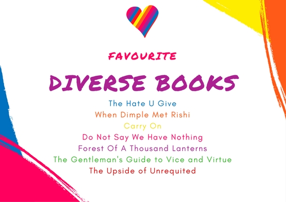 Favourite diverse books