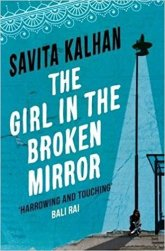 girl in the broken mirror