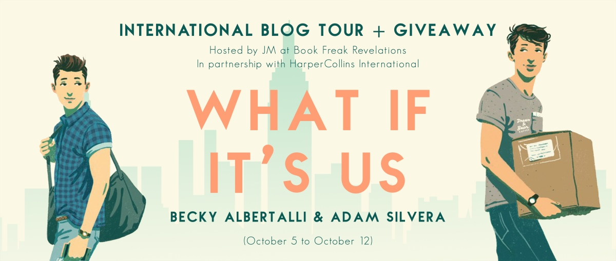 Blog Tour: What If It's Us // One of the sweetest queer romances of 2018