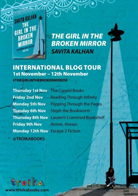Girl in the Broken Mirror international blog tour
