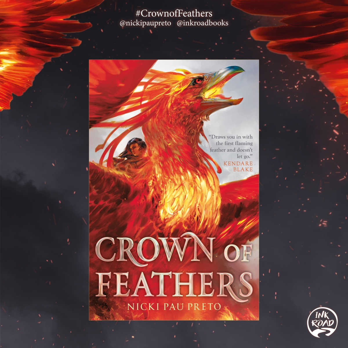 Crown of Feathers Blog Tour // Nicki Pau Preto talks about writing action scenes, dialogue, and folk lore (Q&A)